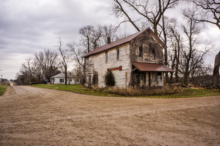 6. It's an especially creepy feeling when you stumble upon one of Iowa's forgotten ghost towns, and you wonder why all the people left, or what happened there...