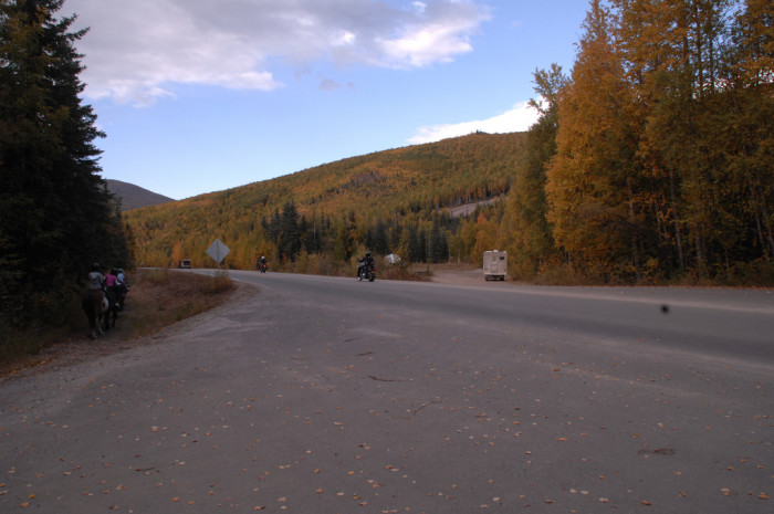 5) Mile 8-12 of Chena Hot Springs Road