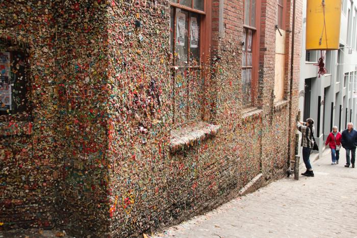 5. Seattle Gum Wall