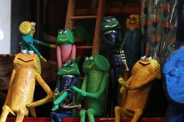 6. Frog Art Farm, Fayette