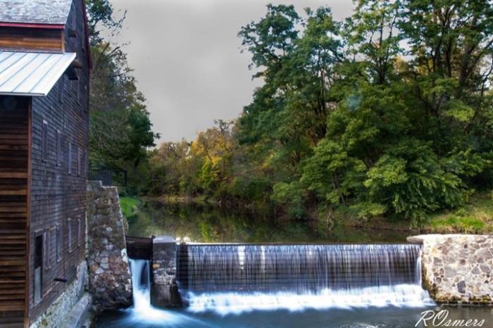 5. Roberta Osmers shot this beautiful scene at Pine Creek Grist Mill.