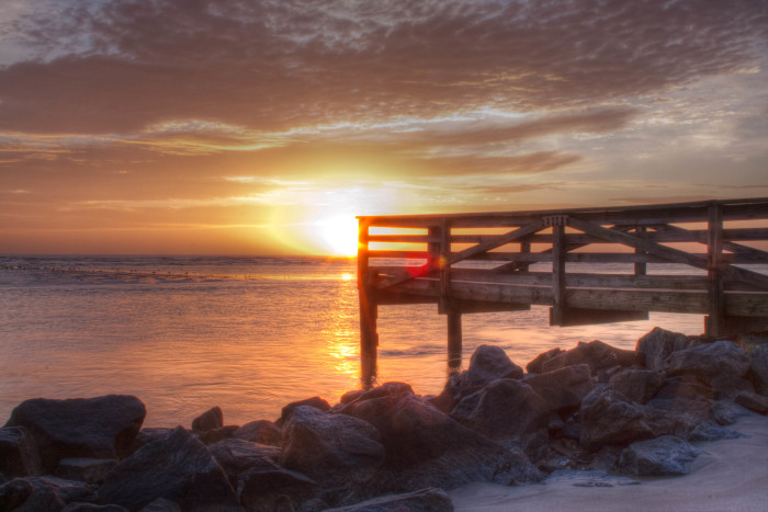 11. Sunrise on St. Simons Island, Georgia