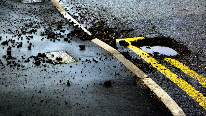 6. I'd fix all the potholes.