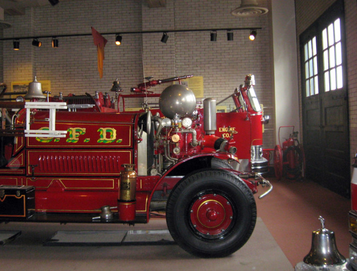 9. The first professional city fire department was in Cincinnati.