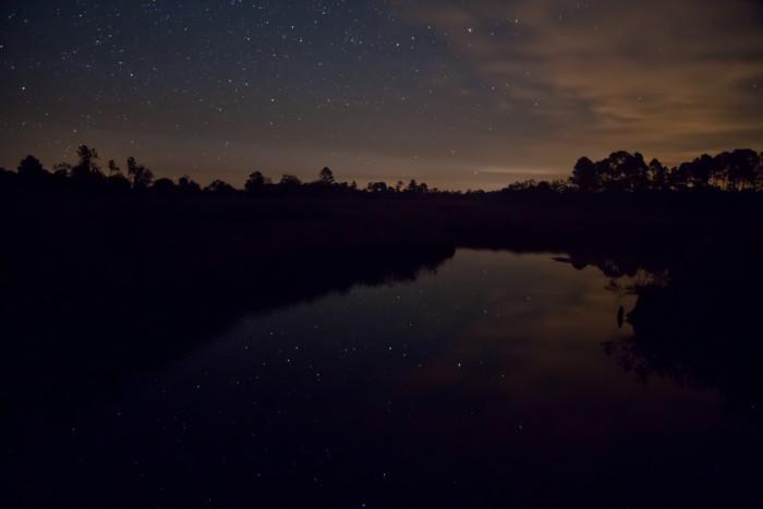 5. Reflections of the stars in Cedar Key