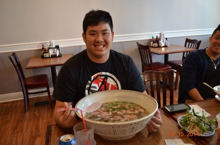 6) Pho Challenge, Pho Cam Ly, New Orleans