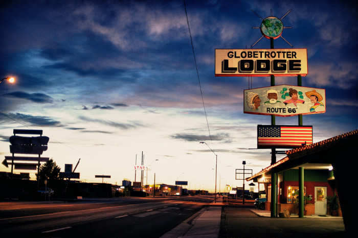1. See how you could get your kicks on Route 66.