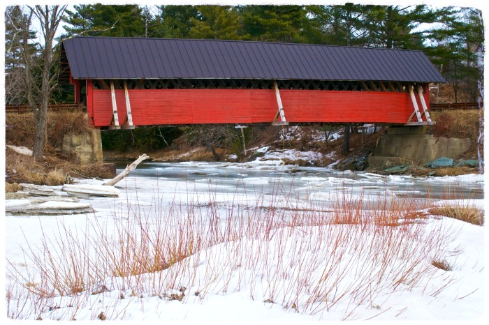 22) River Road Covered Bridge, Troy