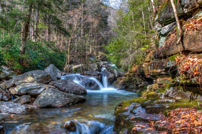 1. Chickamauga Creek Trail - Rocky Face, GA