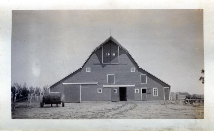 """1. """"Enoch Eliason Farm - Carlton, Kansas."""""""