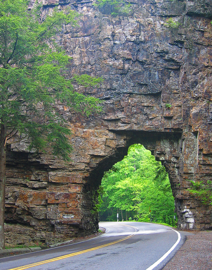 7) Ever wonder where the world's shortest highway tunnel is located?