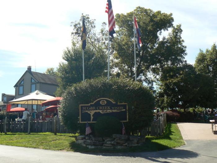 7. Sugar Creek Winery, Defiance