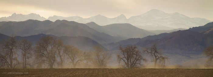 2. Front Range Foothills