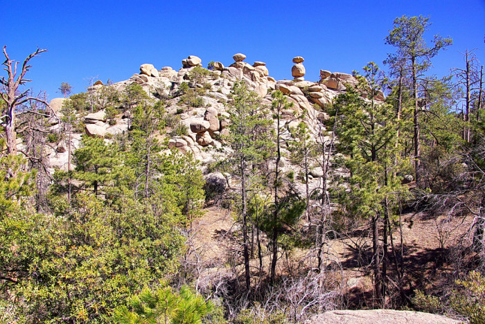 10. Wilderness of Rocks #44, Coronado National Forest