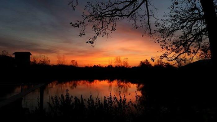 6. Cheryl Fuller shared this breathtaking  photo of the sunrise near Charles City.