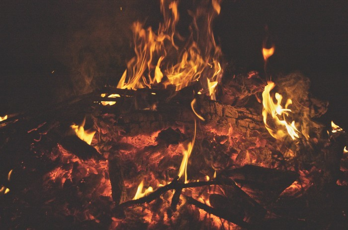 7. And get the fire pit ready for bonfires.