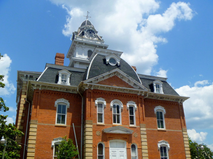 8. Hancock County Courthouse in Sparta, Hancock County