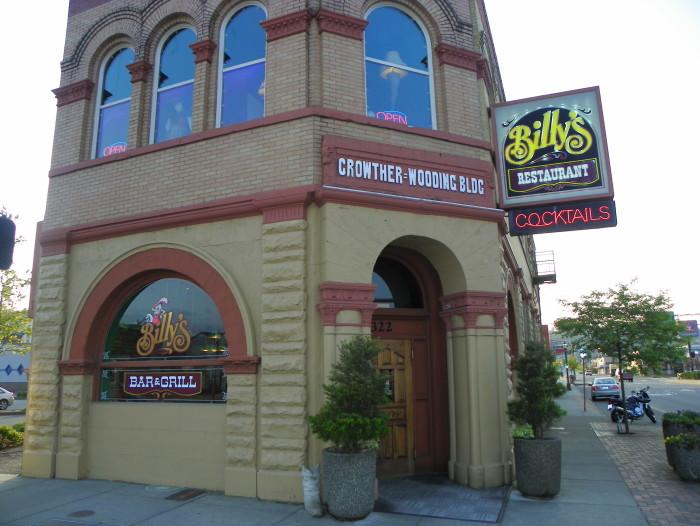 7. Billy's Bar & Grill, Aberdeen