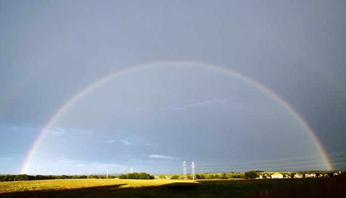 "1) ""(Rainbow)X2 + Lightning = 1 Lucky Shot."""