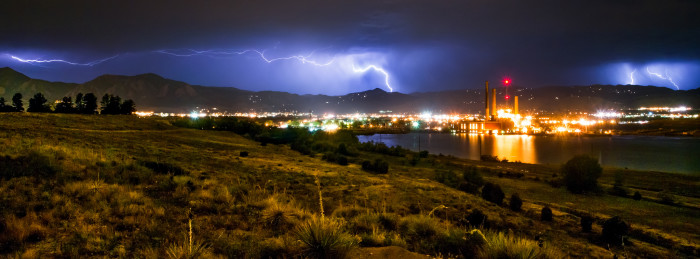 1. Electrifying storms over Boulder