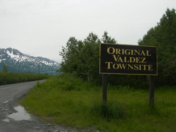 6) Original Valdez Town