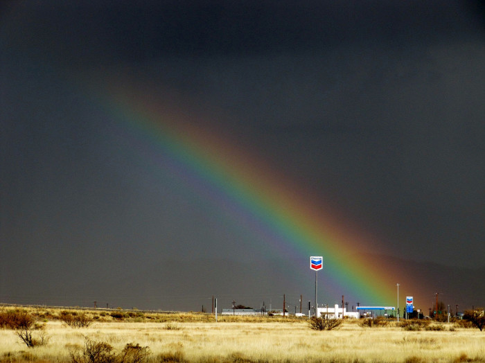 """9) """"There's oil at the end of the rainbow."""""""