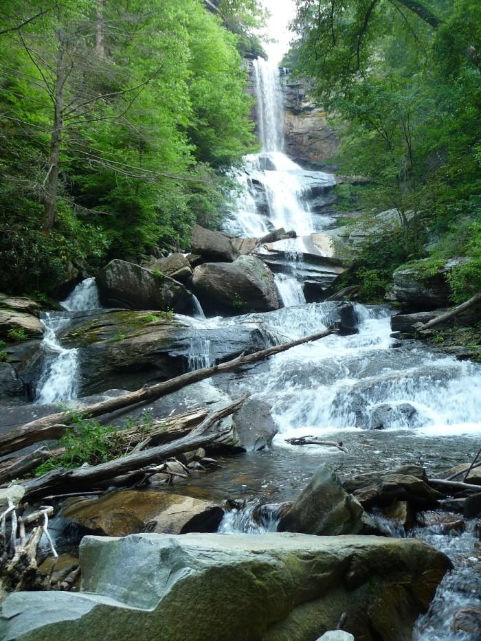 7. Raven Cliff Falls