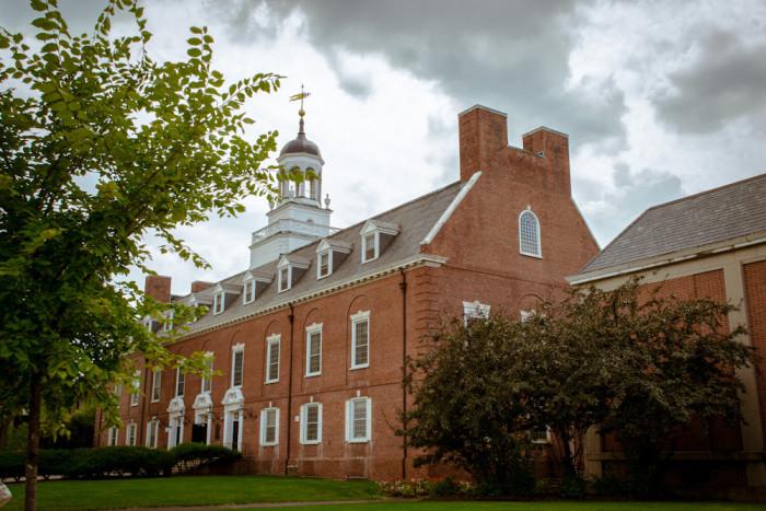 3. Rutgers becomes coeducational - 1972.