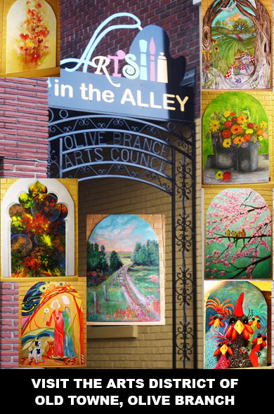 8. Arts in the Alley, Olive Branch