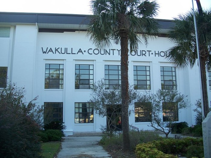 8. Wakulla County: 40.17 / 10,000
