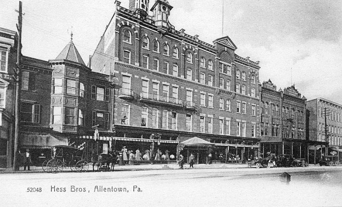 Hess Brothers in downtown Allentown was once a major attraction.