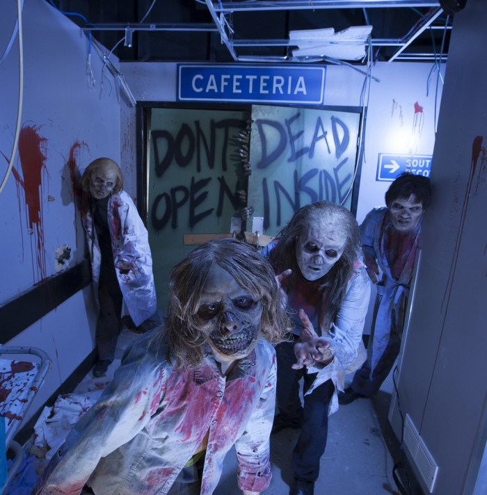 8. Three words: Halloween Horror Nights.
