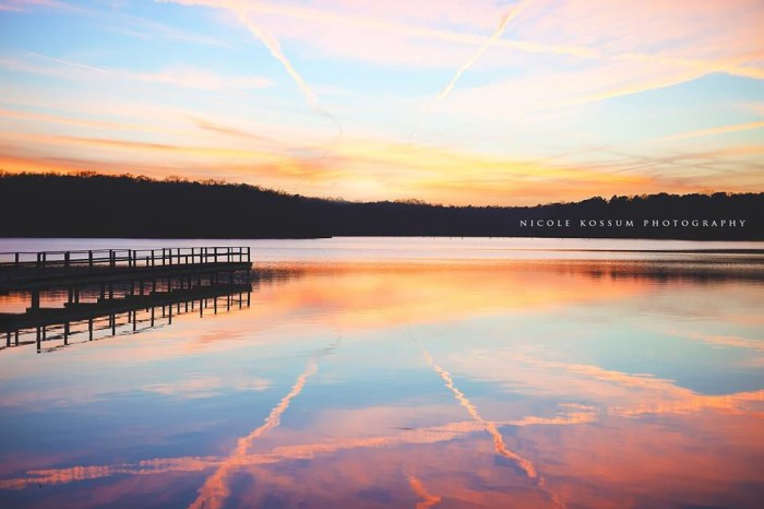 8. Thanks to the sun's illumination, a spectrum of colors adorn Natchez State Park, and, luckily, Nicole DeCell Kossum was there to capture it.