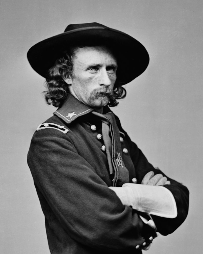 7. During the Civil War, the 7th Calvary organized at Fort Riley under General George Custer.