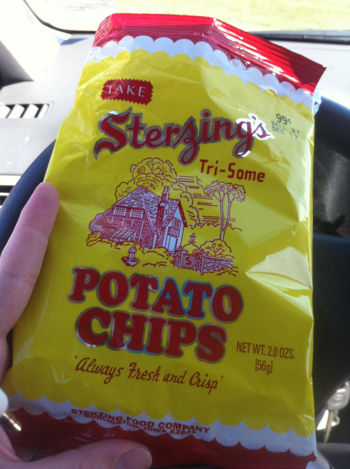 8. You know the salty, crunchy deliciousness of Sterzings.
