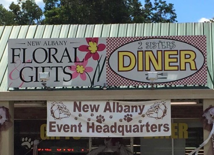 8. 2 Sisters Diner, New Albany