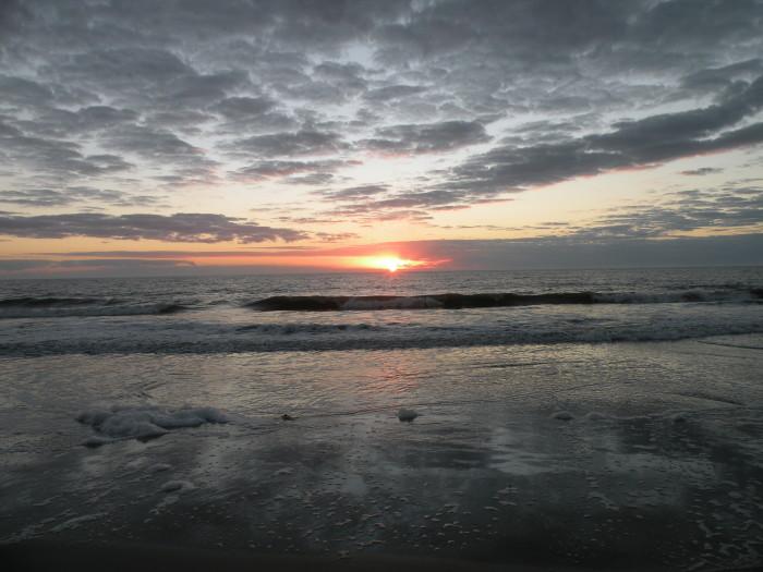 8. A grey November morning on Jekyll Island.
