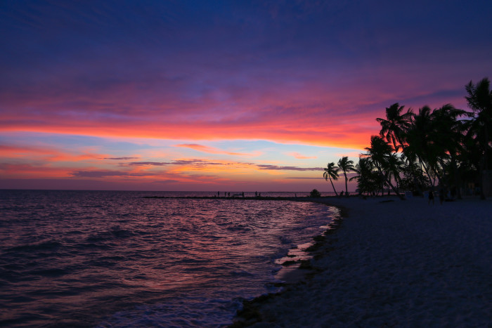 13. This classic Key West sunset
