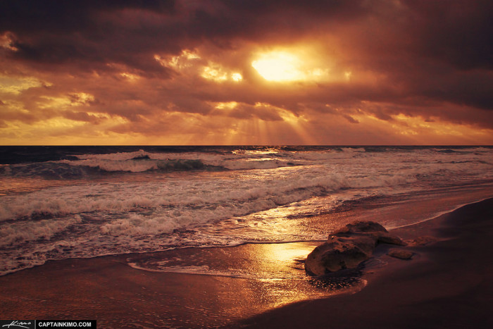 11. This golden sunset captured in Jupiter