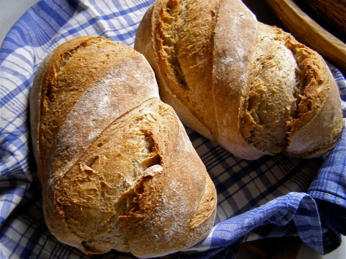 6. We bake breads; all kinds of breads!