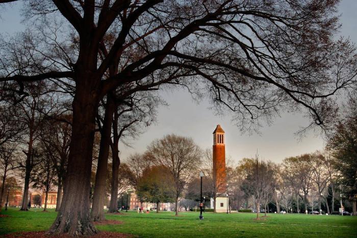 6. University of Alabama Quad - Tuscaloosa
