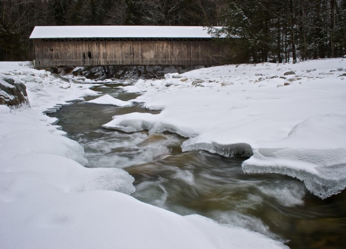 16) Brown Covered Bridge, East Clarendon