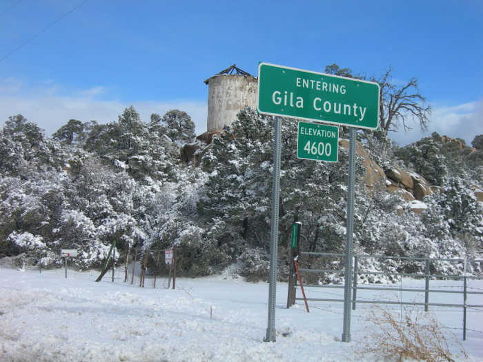 1. Gila County