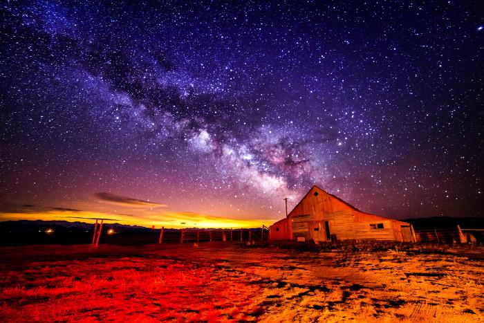 3. Amazing skies over Arapaho National Wildlife Refuge