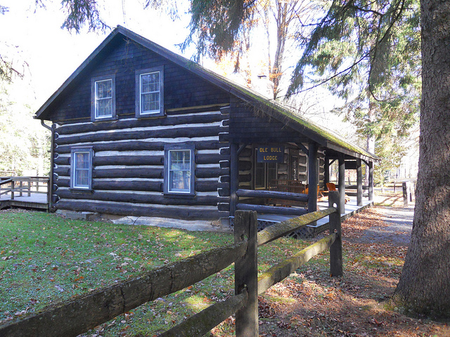9. A famous Norwegian violinist tried to establish a New Norway in 1852 at the site of what is now Ole Bull State Park.