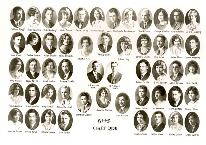 1. The size of your graduating class was in the double digits, and you knew the name of every class member.