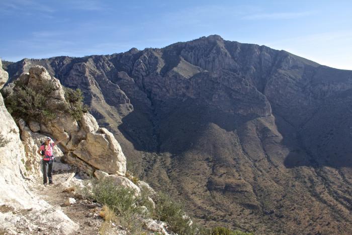 3) Guadalupe Peak (Salt Flat)