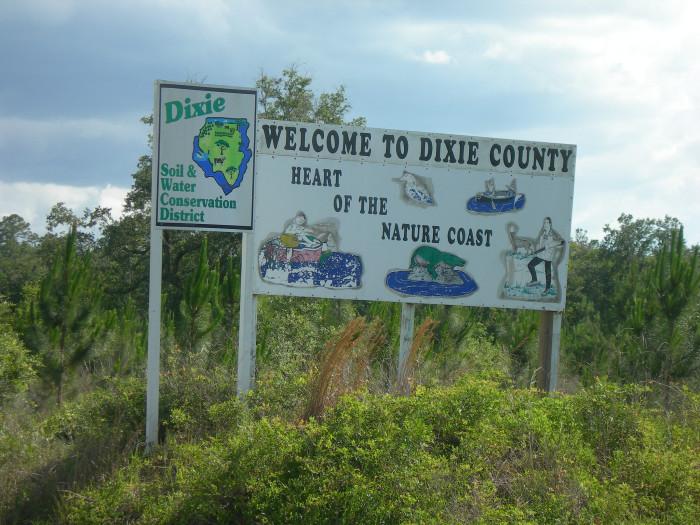 5. Dixie County
