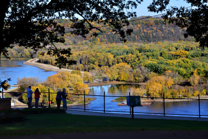 8. The stunning scenery at Eagle Point Park