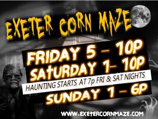 10. Exeter Corn Maze - Exeter